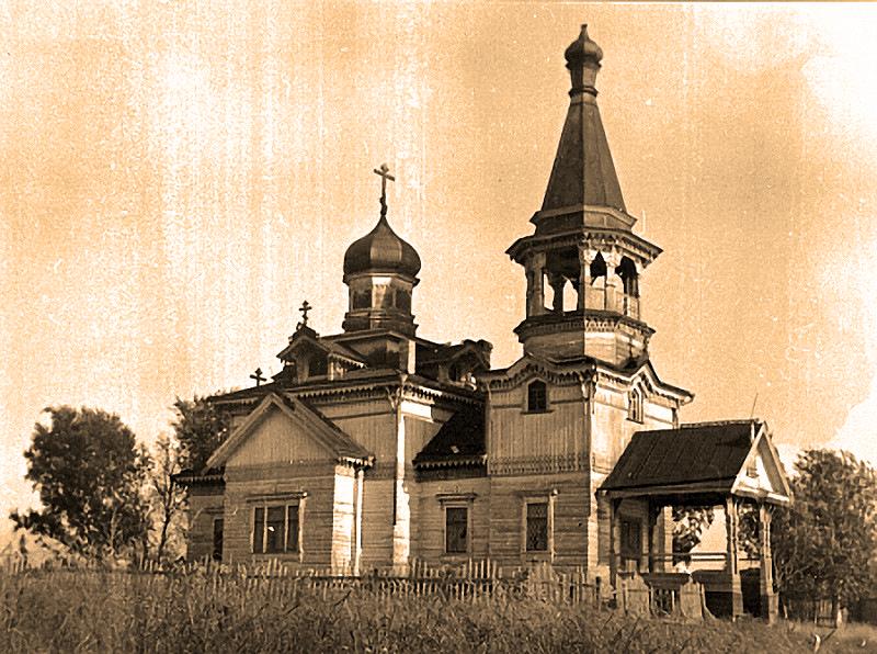 Церковь в деревне Леликово