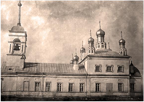 Церковь в Пудоже